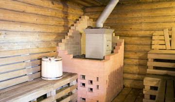 Жаров и Паров русская баня на дровах